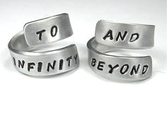 TO INFINITY and BEYOND Best Friend Ring Infinity by ClintonStudios