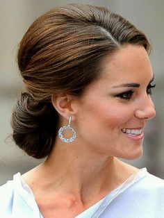 Lovely updo -- for the next black tie ....