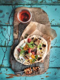 Swordfish souvlaki recipe with tzatziki that is made with chunks of swordfish marinated in vinegar, wild oregano and garlic and then grilled for a feast.