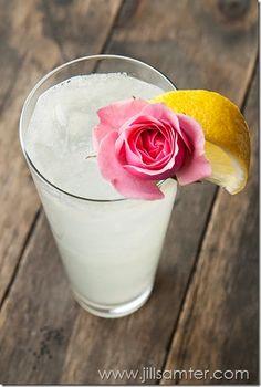 Coconut Rose Water Lemonade
