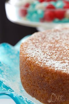 """This French Grandmother's Lemon Yogurt Cake is simple, classic and """"magnifique""""! It's a lemon lover's dream"""
