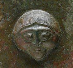 Luristan - Persia (Iran) Disc_-_headed_Pin_LACMA_M.76.97.154_(cropped)