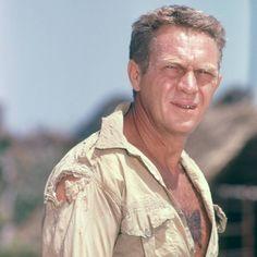Steve McQueen in PAPILLON ('73)