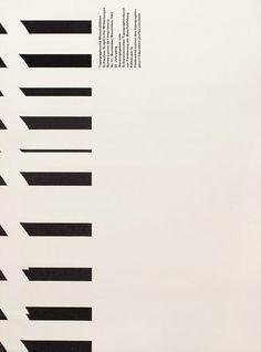 André Gürtler, Bruno Pfäffli, cover design for Typographische Monatsblätter, 1962. Switzerland. Typeface: Univers. Via TM Research