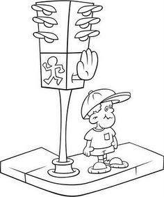 #trafik #trafikhaftası #boyamasayfaları #trafikboyama Service Public, Coloring Books, Clip Art, Montessori, Albums, Vehicles, Good Ideas, Road Traffic Safety, Social Studies
