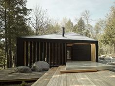 Updated Contemporary Cottages For Unpretentious Accommodation - Architizer