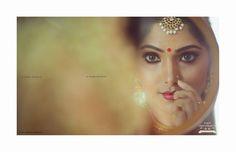 South Indian bride. Temple jewelry. Jhumkis.Cream silk kanchipuram sari.Braid with fresh jasmine flowers. Tamil bride. Telugu bride. Kannada bride. Hindu bride. Malayalee bride.Kerala bride.South Indian wedding.Muktha Rinku Tomy wedding.
