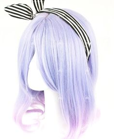 Light Violet Medium Curly Additional Information Color Light Violet Length Wig Weight Wig Caps Type Basic Cap Material Hiperlon Fiber Heat Resistant Up to temperature of What in the box Wig, Comb & Hair Stand Parcel Weight KGS Customer Real Life Photo 0 % Kawaii Hairstyles, Funky Hairstyles, Pretty Hairstyles, Wig Hairstyles, Hairstyle Men, Formal Hairstyles, Wedding Hairstyles, Medium Curly, Medium Hair Styles