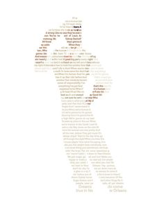 Prince Naveen in Text Wall Art - Disney Prince Art - Princess and The Frog Art - Down in New Orleans