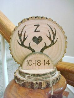 Hey, I found this really awesome Etsy listing at https://www.etsy.com/listing/204944507/custom-rustic-wedding-cake-topper-wood