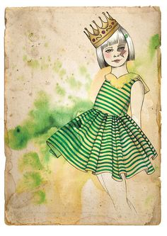 Little queen by Camis Gray, via Flickr
