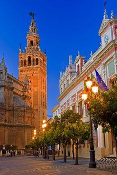 81. Cathedral, Alcázar and Archivo de Indias in Seville Spain