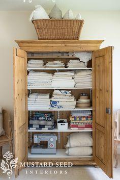 Pine Furniture Makeover Miss Mustard Seeds 21 Trendy Ideas Pine Wardrobe, Antique Wardrobe, Wardrobe Ideas, Repurposed Furniture, Rustic Furniture, Antique Furniture, Outdoor Furniture, Linen Cupboard, Wardrobe Makeover