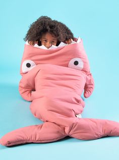 Nuevo saco rosa para niños, con bolsa de regalo