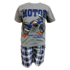 Fashion Motor shirt + short - kids - fourseasonsshop.nl - Four Seasons Shop