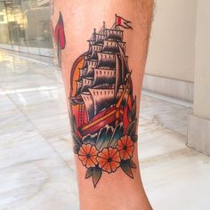 Captain - American Traditional, Oldschool Tattoos - Sake Tattoo Crew