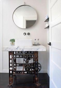 De mooiste badkamers met een industriële touch   NSMBL.nl