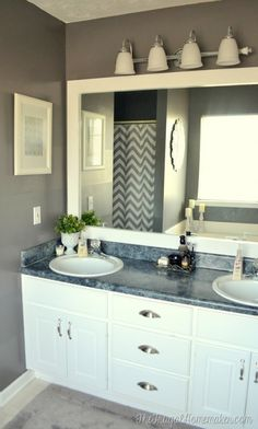 35 Cheap Home Improvement Projects That Are Sure To Fit Your Budget. Ohio  HouseBathroom MirrorsMaster ...