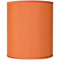 This beautiful orange textured polyester shade is hand-crafted to order. Chrome finish spider fitting, harp, and round ball finial. Style # at Lamps Plus. Acoustic Fabric, Make A Lamp, Embroidered Leaves, Tall Lamps, Beautiful Textures, Vintage Lamps, Chrome Finish, Spider, Vibrant Colors