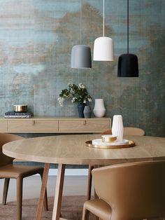 Clayton Ceramic Pendant in Grey | Modern Pendants | Pendant Lights | Lighting