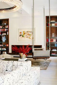 Project Portfolio Mica Ertegun, Soho, Oversized Mirror, Lounge, Projects, Inspiration, Interiors, Furniture, Wedding Decor