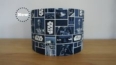 NEW Handmade 20 cm Drum lampshade in Star by HummingbirdHome2012, £22.00