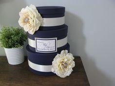 Lapis Purple Glam Wedding Card Box