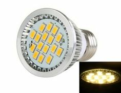 TQX060 E27 450-500LM 5630 SMD 16-LED Warm White Lamp (Silver) by QLPD. $29.20. This high brightness LED lamp is suitable for all E27 base.