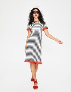 Boden stripe jersey dress