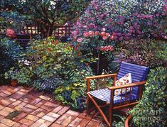 'Comfort Chair' by David Lloyd Glover