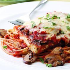 Fitness Food of the Week: Tofu. All the health benefits of tofu. Plus, a Tofu Parmigiana recipe! Healthy Italian Recipes, Tofu Recipes, Dinner Recipes, Cooking Recipes, Protein Recipes, Cooking Tips, Easy Recipes, Protein Dinners, Recipies