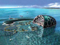 Crescent Hydropolis Underwater Resort Location: Dubai, Emirates When built: 2014; Height: -0 м