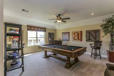 Gehan Homes Game Room Houston, Texas | Inverness Estates Classic - Dartmouth www.gehanhomes.com/gallery/gameroom-gallery/ #Gehanhomes