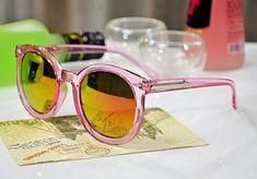 WOMEN's LIFESTYLE: Transparent fashion women's sunglasses, TripleClic... Pink Grey, Purple, Women Lifestyle, Eyewear, Lenses, Sunglasses Women, Great Gifts, Womens Fashion, Eyeglasses