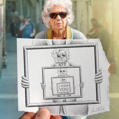 Pencil vs Camera : Digital Arts + Mixed Media by Ben Heine