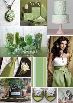 Sage green wedding moodboard Papaver Designs poppylee.blogspot.com