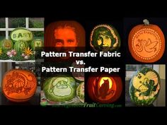 Pattern Transfer Paper vs. Pattern Transfer Fabric Baby Patterns, Fabric Patterns, Watermelon Carving, Graphic Patterns, Transfer Paper, Pattern Paper, Pumpkin Carving, Fall, Products