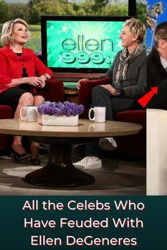 #Celebs #Feuded #Ellen #DeGeneres