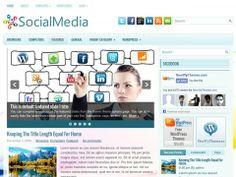 SocialMedia Free WordPress Theme