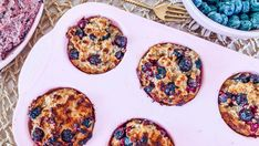 Healthy Blueberry Muffins - Rebecca Gawthorne - Dietitian Healthy Toddler Snacks, Healthy School Lunches, Healthy Breakfast Recipes, Toddler Food, Lunch Box Recipes, Baby Food Recipes, Kid Recipes, Healthy Blueberry Muffins, Blue Berry Muffins