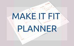 Make it Fit Planner czyli zorganizuj swoje fit życie