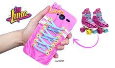 """#DIY """"SOY LUNA"""" PHONE CASE -  Roller skates (EVA foam)  #soyluna"""