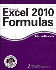 "Author(s): John Walkenbach Publisher: Wiley Date     : 2010 Pages    : 818 Format   : PDF Language : English ISBN-10  : 0470475366 ISBN-13  : 978-0470475362 Size     : 9.58 MB Description: Take your Excel formulas to the next level with this updated reference.   John Walkenbach's name is synonymous with excellence in computer books that decipher complex technical topics. Known as ""Mr. Spreadsheet,"" Walkenbach provides you with clear explanations on all the methods you can use to maximize the po"