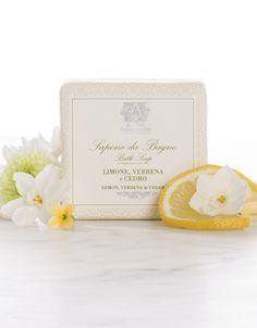 4 oz Bar Soap Lemon, Verbena & Cedar - Bar Soap - The Body  | Antica Farmacista