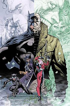 Hush is a Batman graphic novel that collides Poison Ivy, Joker, and a special appearance by Superman. Definitely worth picking up.