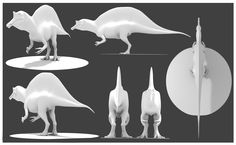 dinosaur reference images for 3d modeling - Google Search