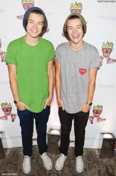 What is better than harry styles? Two harry styles X)