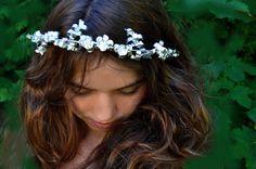 Fairytale Antique crown wreath