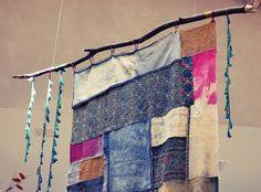 Ideas para decorar ventanas (o cómo hacer cortinas con pañuelos, tapetes…
