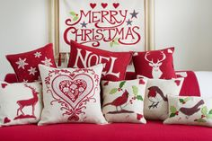 Christmas Home Deco Collection from Jan Constantine - love her stuff! Merry Little Christmas, First Christmas, Christmas And New Year, All Things Christmas, Winter Christmas, Christmas Home, Xmas, Christmas Sewing, Christmas Projects